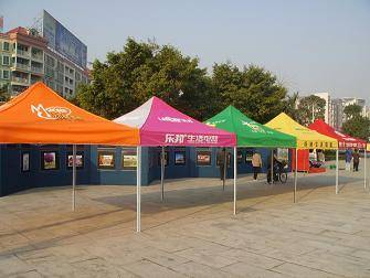 advertising folding tent