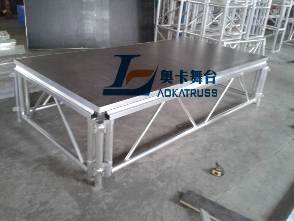 [Aoka Stage] aluminum portable stage / movable stage / Size: 1220x2440mm