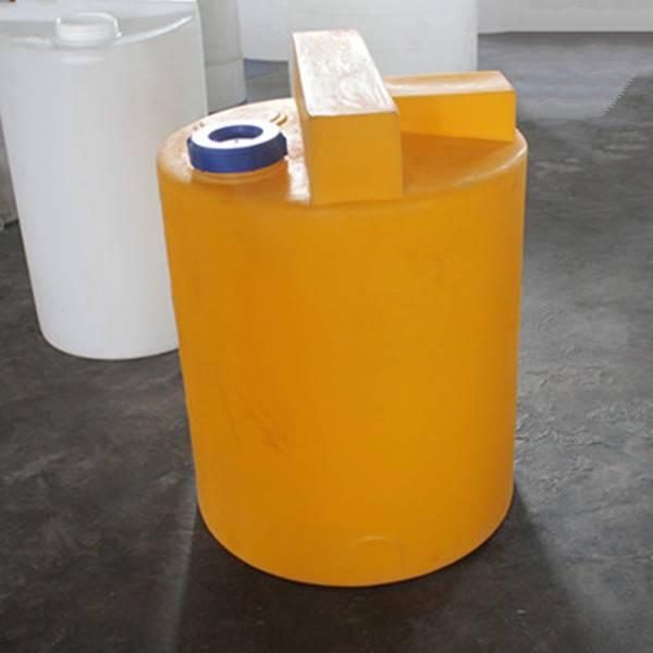 Plastic chemical dosing tank