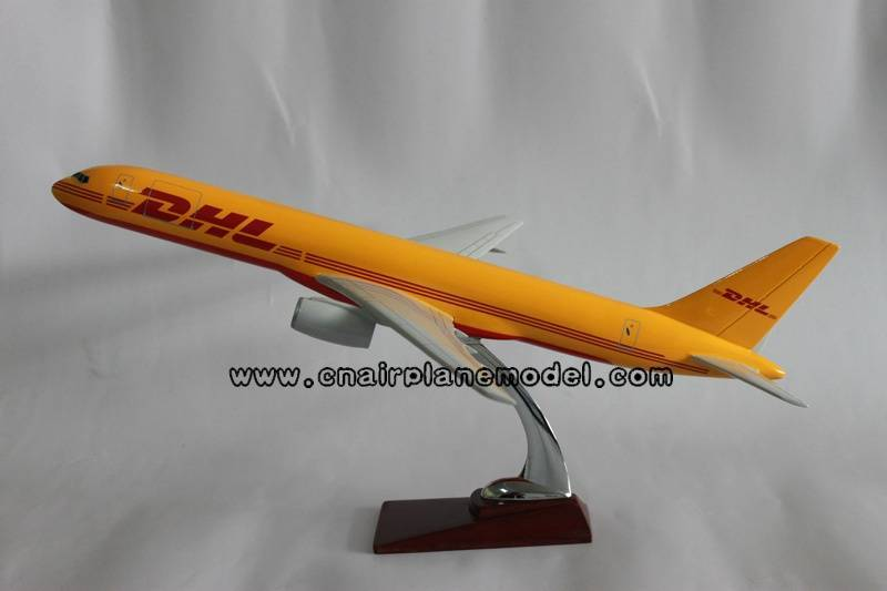 airplane model Boeing757-200 DHL 47cm