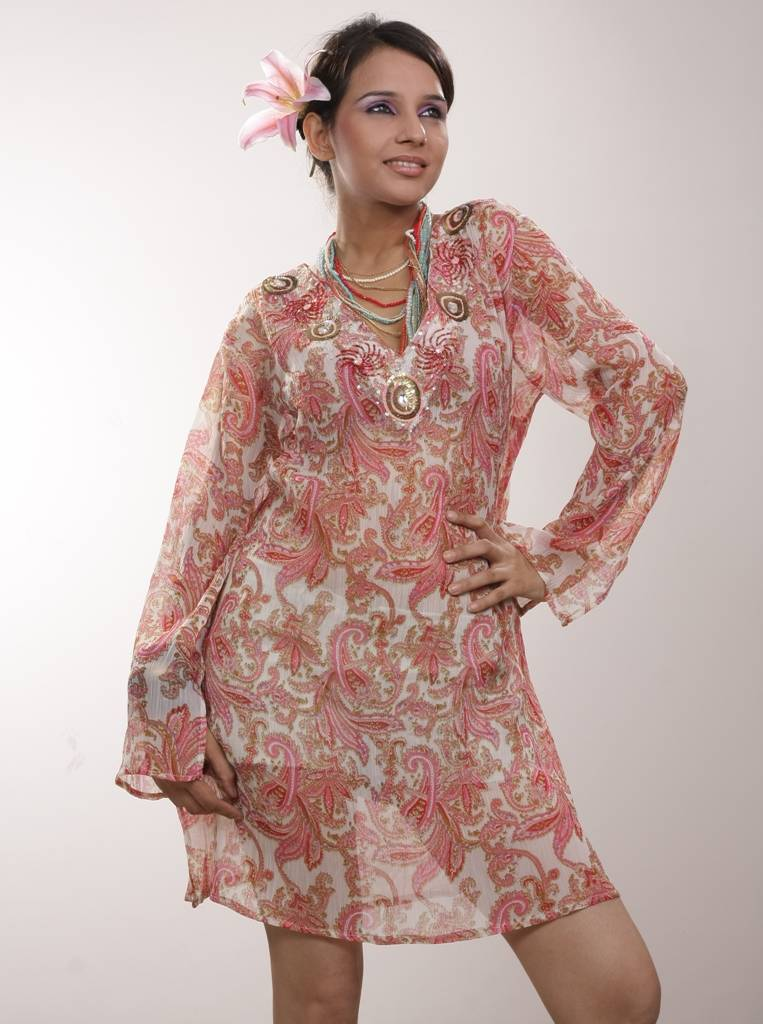 kaftans and Coverups from La Moda Hindu