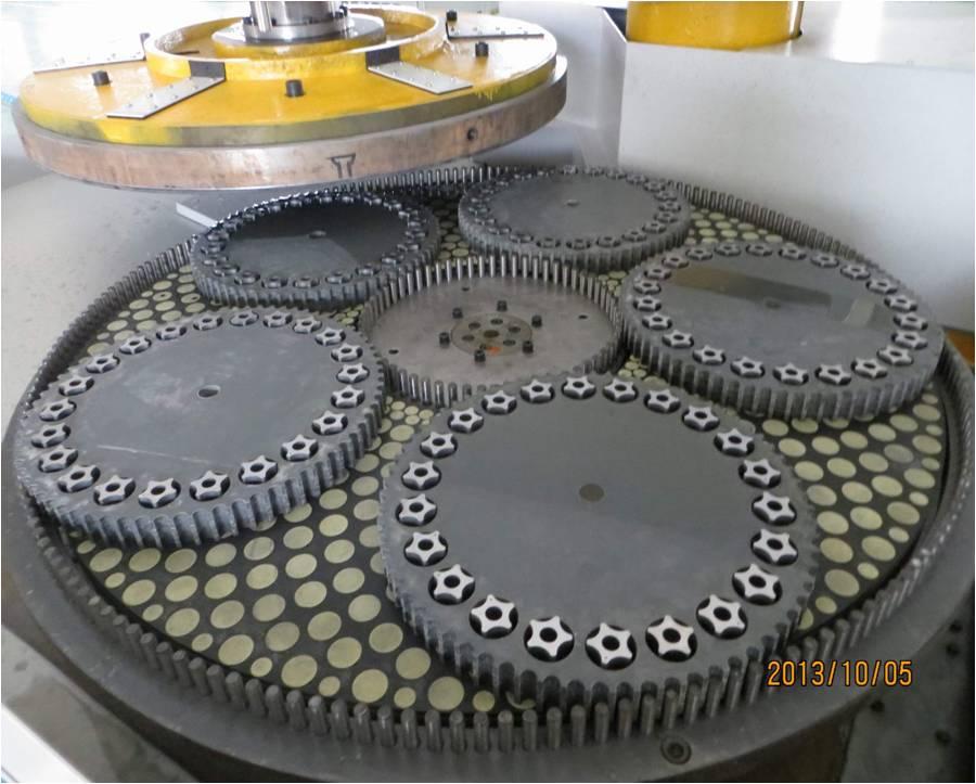 High precision end face flat grinding machine