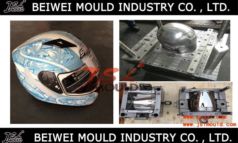 Injection plastic motorcycle full face open helmet mould