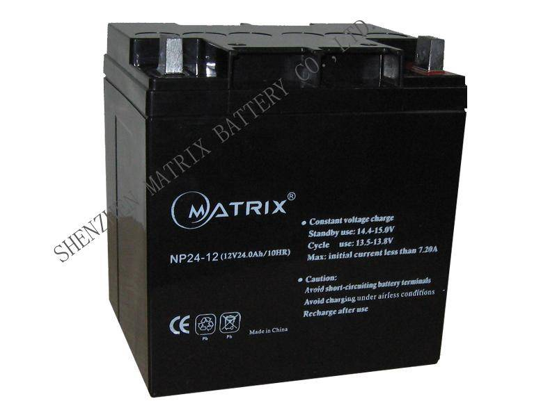 12v24ah ups batteries