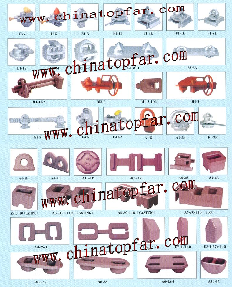 Sell container lashing and securing device,lashing rod,twistlock,stacke cone,dove taill base,