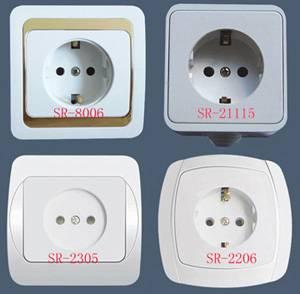 Supply European Style Wall Socket (SR-21115)