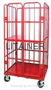 transport equipment, roll container,roll cage