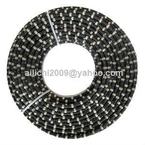 Diamond Wire Saw for Granite Quarrying Reinforced Concrete Cutting
