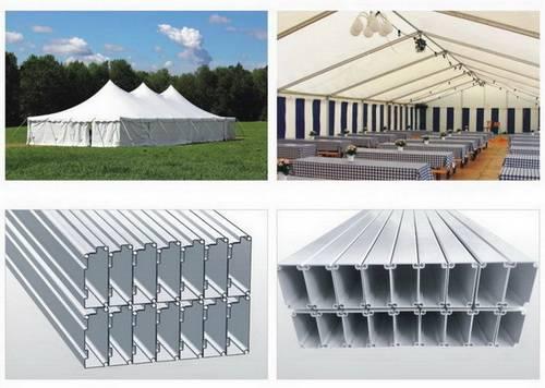 aluminium profiles for tent