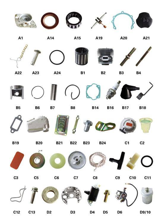 070 Chainsaw parts