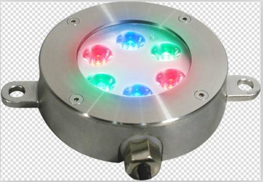 6X1W / 6X3W LED Underwater light for IP68