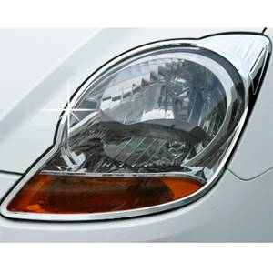 Chevrolet SPARK(Matiz) Chrome head lamp molding GM