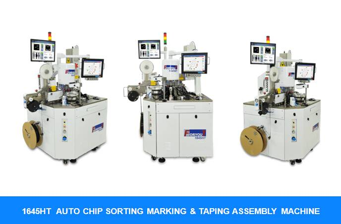 semiconductor testing and sorting machine - 1645HT