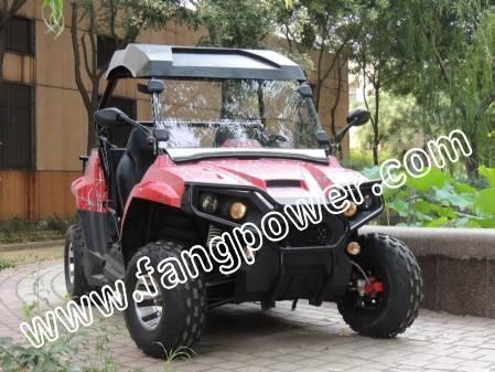 dual seats, rigid roof, alloy wheel fashion UTV 200cc on sale