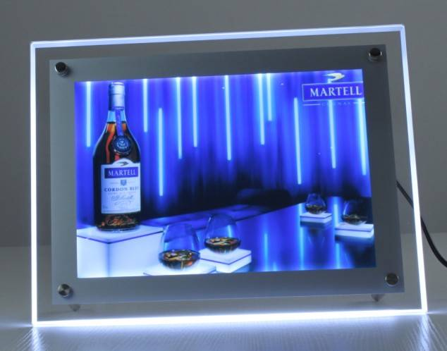 LED crystal light box