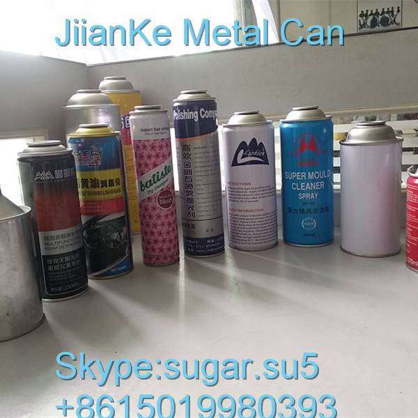 Aerosol cans metal cans Tin cans