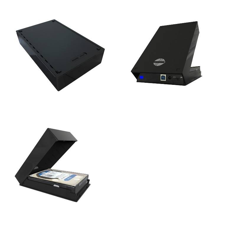 plastic 3.5 Inch External hard drive 4tb HDD Enclosure