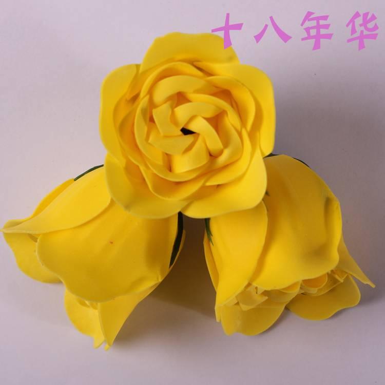 DIY Craft Supplies,Multi colors Artificial flowers Rose soap flower