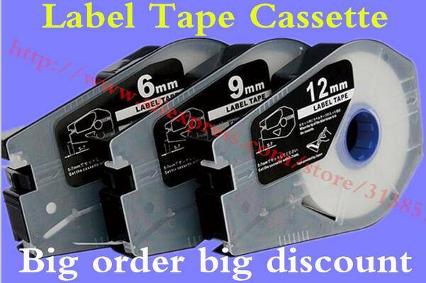 Label Tape TM-1109Y Yellow 9mm For Cable Marker ID Printer Electronic Lettering Machine MK2500 MK150