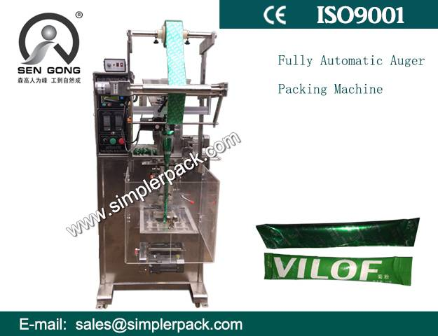 Sell Well Fully Automatic Auger Filler Powder Packing Machine Made in China
