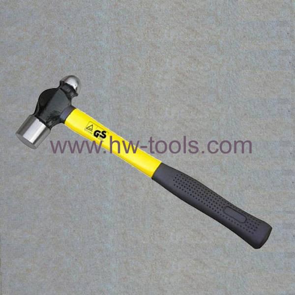 forged ball pein hammer fibreglass handle