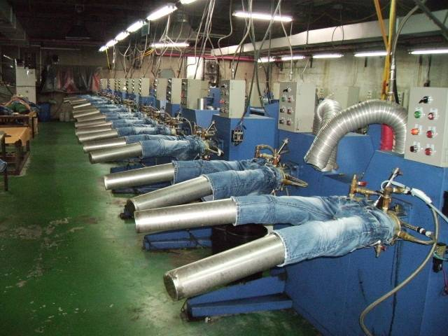 Jean Washing Dying machines