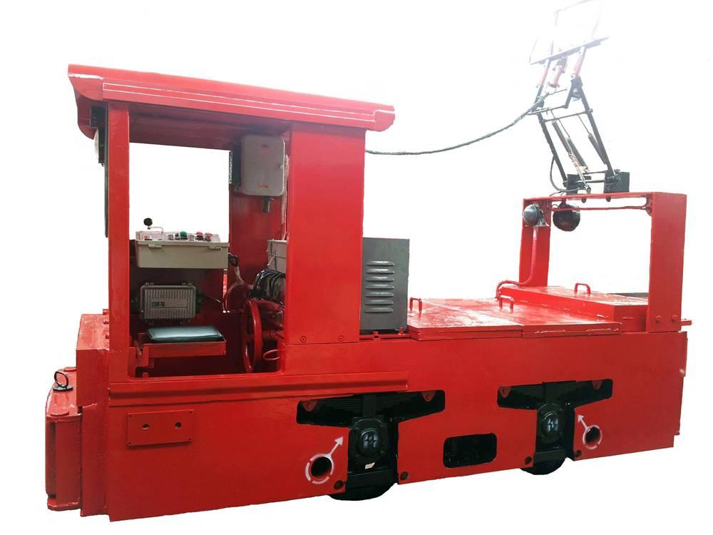 6ton mining trolley electric locomotive