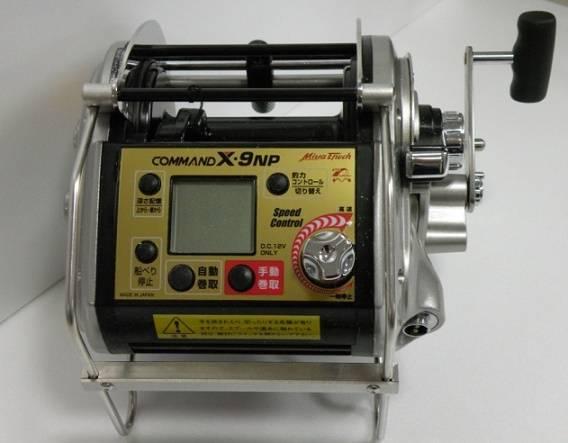Miya Epoch COMMAND X-9NP Electric Fishing Reel
