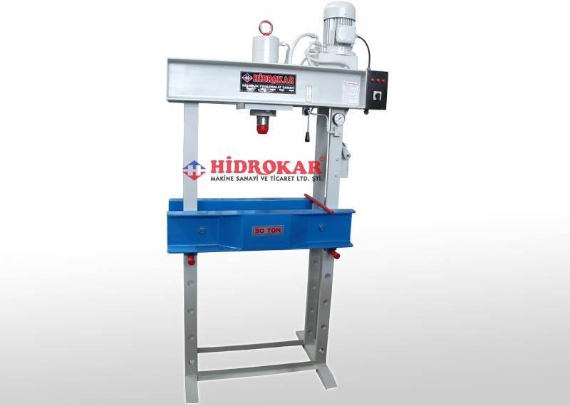 hydraulic workshop press 30 tons