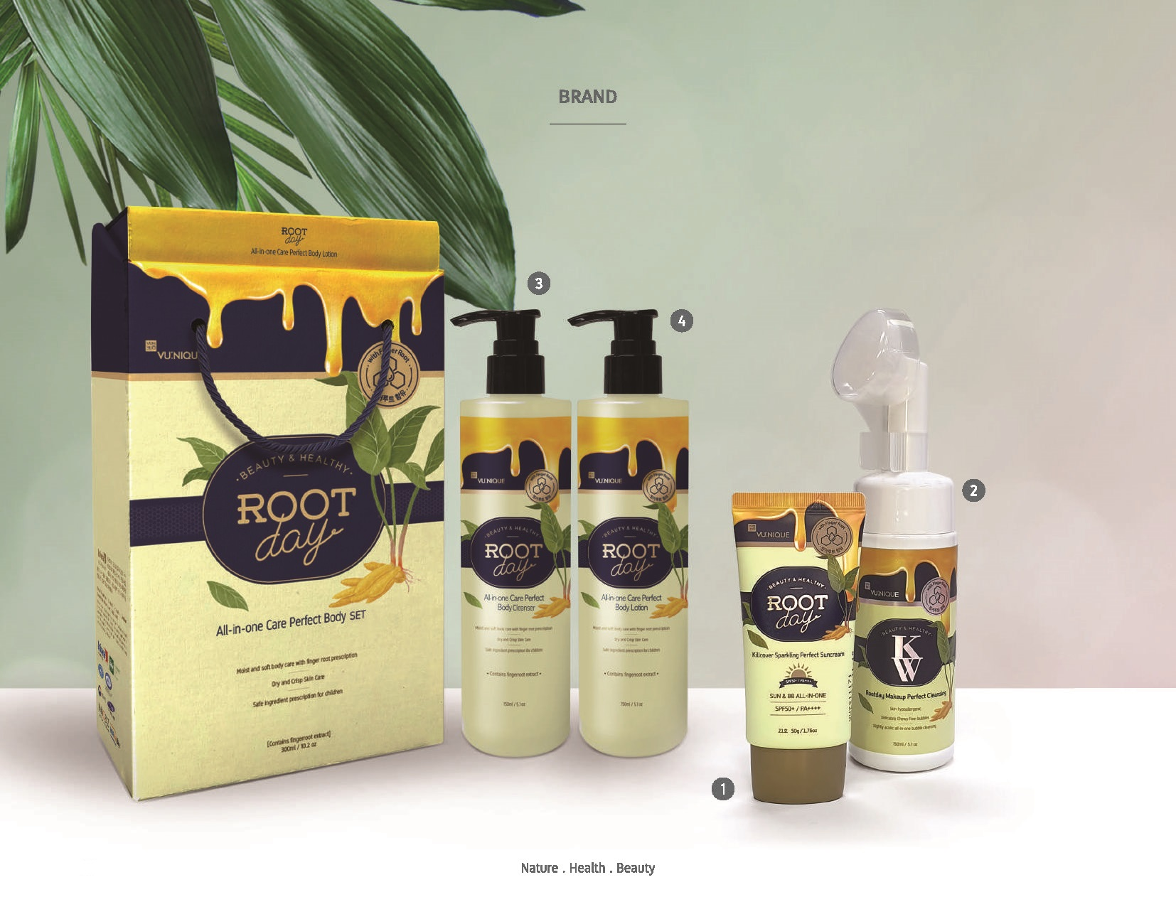 Root Day Skin Body Care