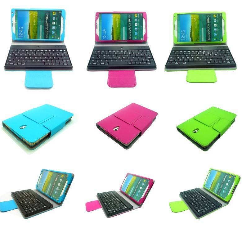 Universal Bluetooth Keyboard Case For Samsung Galaxy Tab 4 8.0 & Tab S 8.4 Inch