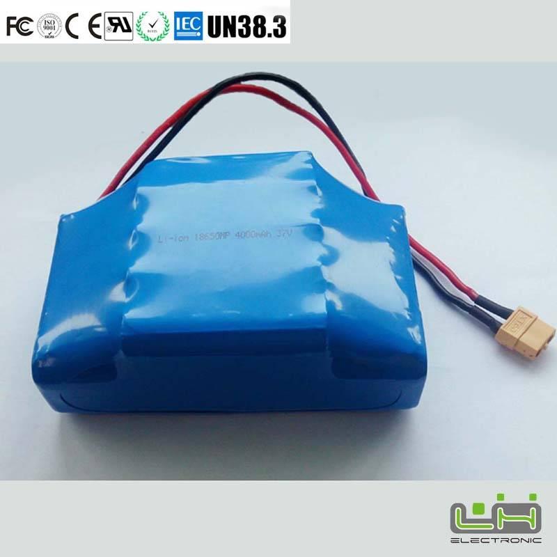 Sell 36V li ion battery 18650 battery pack 4400mah