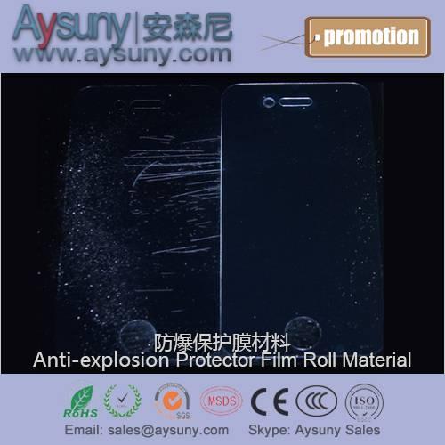 6H Anti-explosion PMMA organic glass screen protector film roll