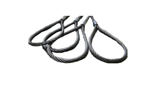 Pressed Wire Rope Sling (Steel Core)