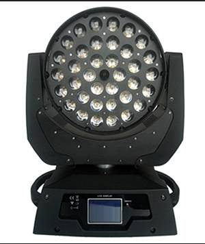 36pcs10W 4in1 wash moving head zoom stage lights