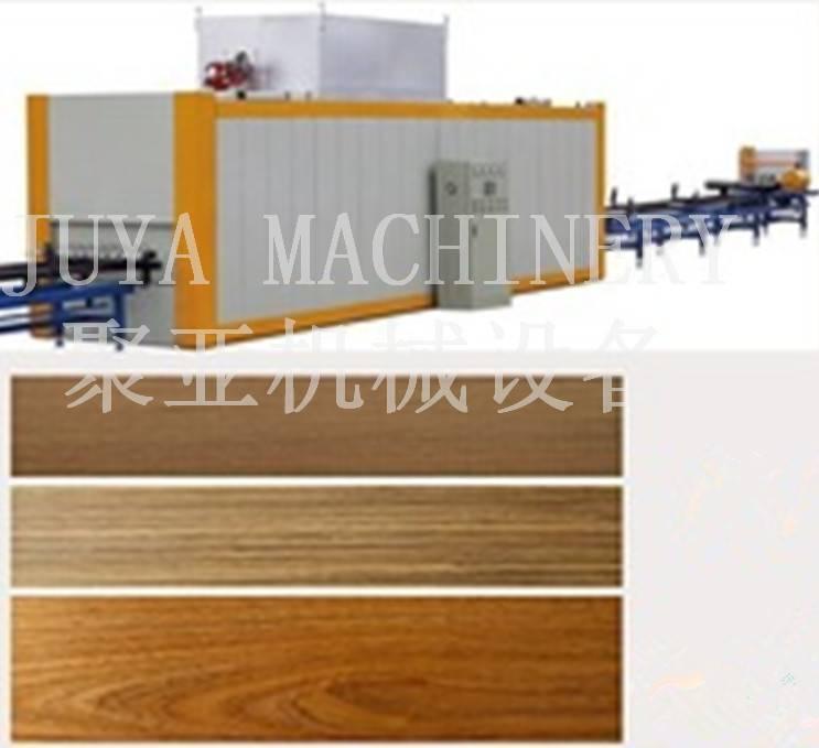 aluminum profiles vacuum wood grain transfer machine
