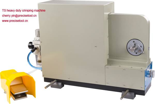TS-01 Pneumatic Crimping Machine Suitable for heavy duty wire copper ring terminals