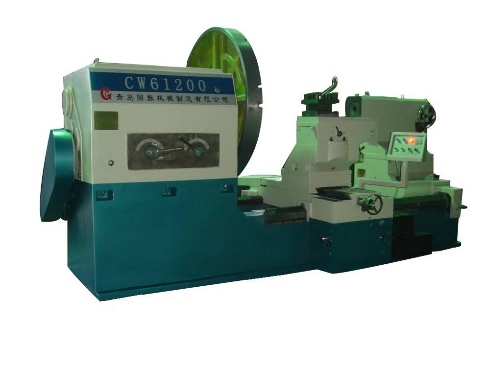 New Low Price Swing Dia:1250 1600 Roll Rotor Shaft Flange Turning Horizontal Lathe Machine China