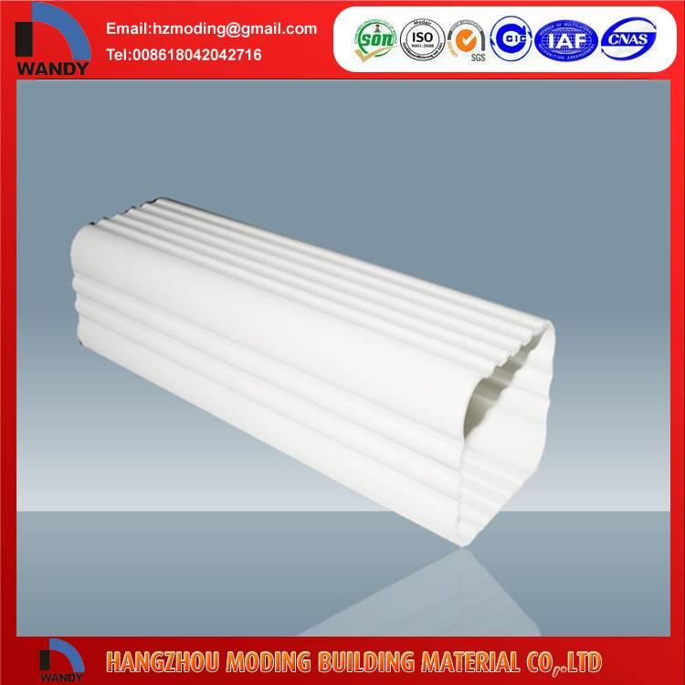 pvc gutter /pvc rain gutter/pvc roof gutter