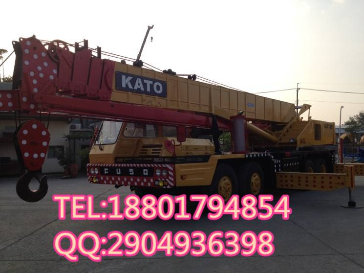 used kato 45t truck crane for sale