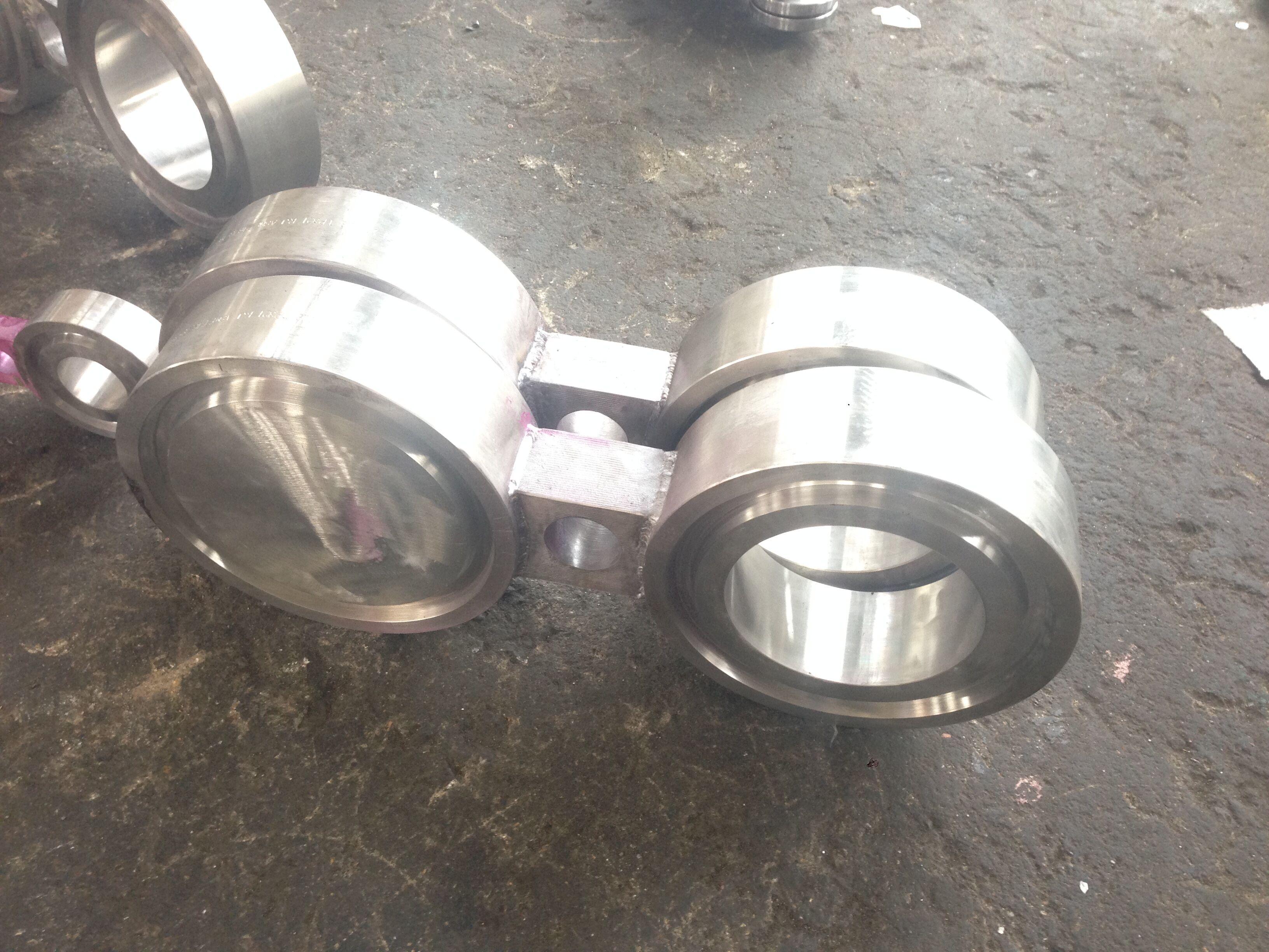 ASTM B462 UNS N08020 Blind Flange, Class 150 LB (PN20), Size 2 Inch (DN50), ASME B16.5, Raised Face