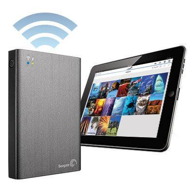 Seagate 2TB Wireless Plus Mobile Device Storage 2.5 Hard Drive Disk HDD