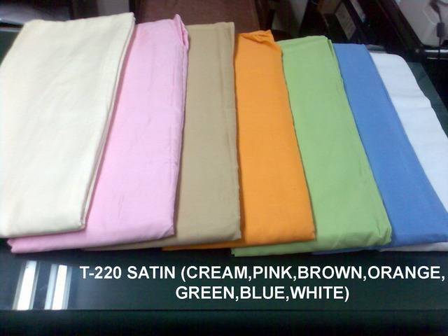 Available Fabric Stock : T200 , T220 , T260 , T300 , 68x44 35x150D , 76x68 30x30