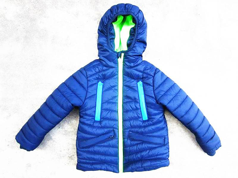 Sell Boys Outdoor Winter Padded Jacket Stock
