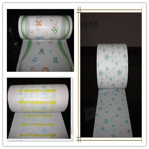 CPE film for diaper and sanitary napkin