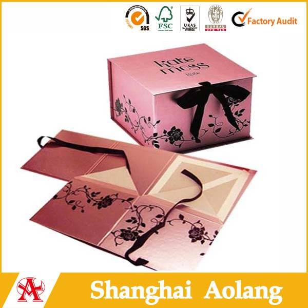 High Strength Cardboard Foldable Gift Boxes