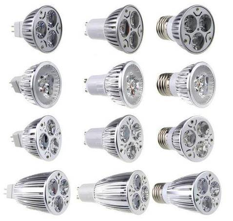 Sell led spots lightings Super Bright MR16/E27/GU10 CREE Dimmable LED spot lights lamp bulb 3W/6W/9W
