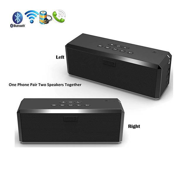 Factory direct built-in subwoofer mini powered speaker bluetooth