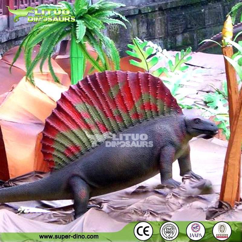 Amusement Park Artificial Life-size Dinosaur