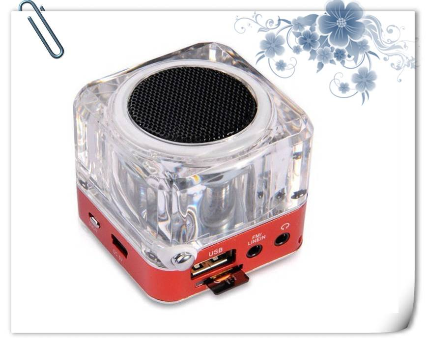 mini speaker for USB with FM Radio Amplifier Speakers Music Speakers Portable